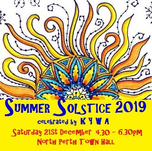 Summer Solstice – Sat 21st December 2019