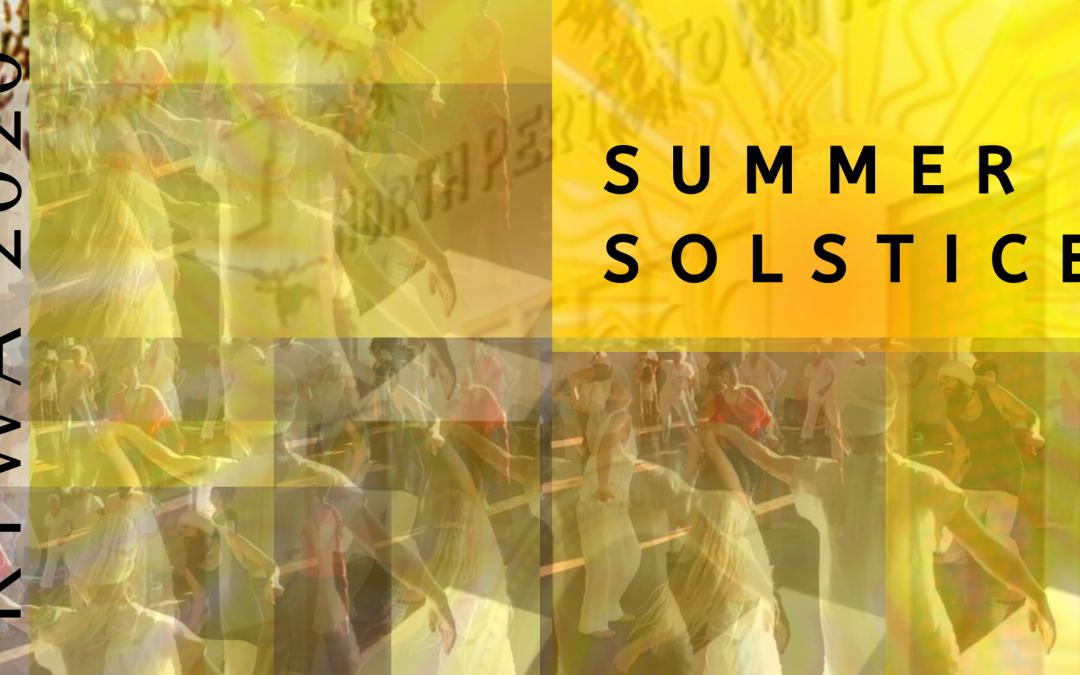 Summer Solstice – Sat 19th December 2020